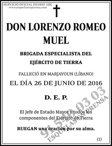 Lorenzo Romeo Muel